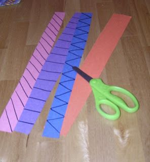 Let the kids cut their own shapes for headbands for goodness sake
