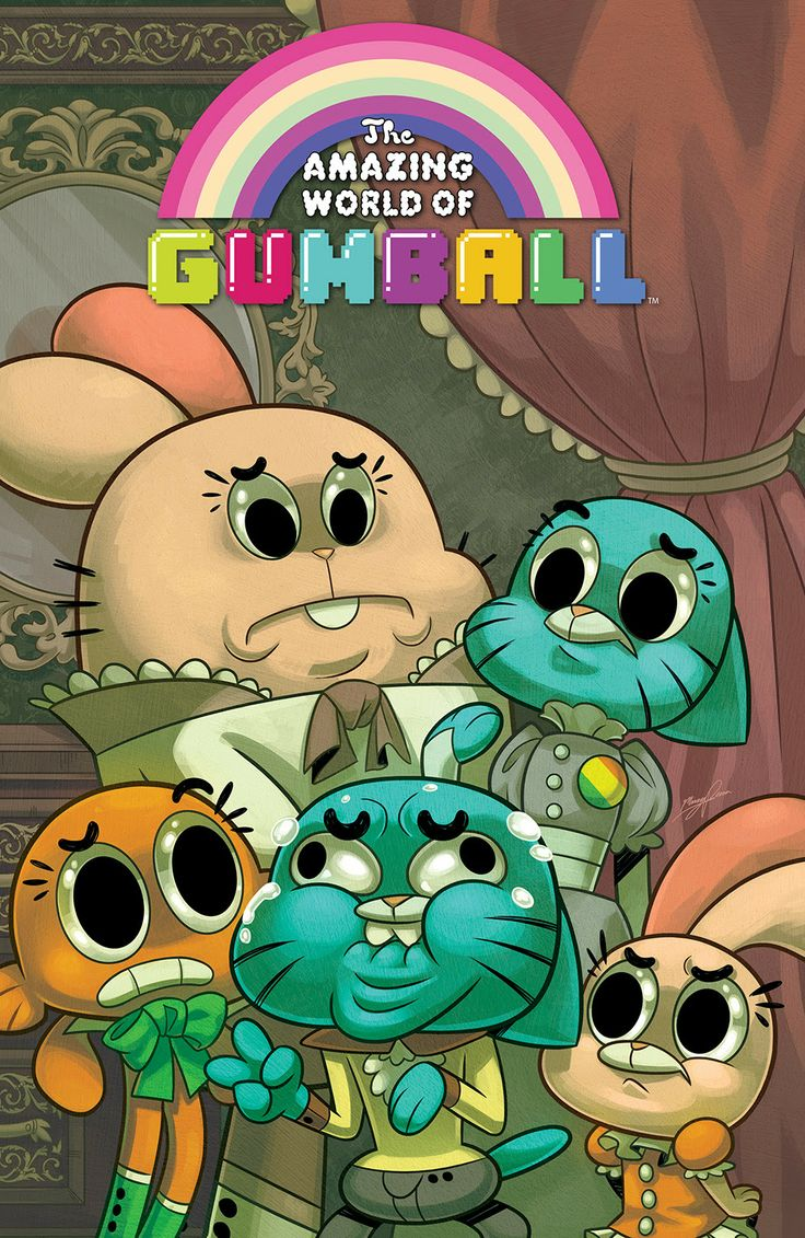 THE AMAZING WORLD OF GUMBALL #3 Cover A by Missy Pena