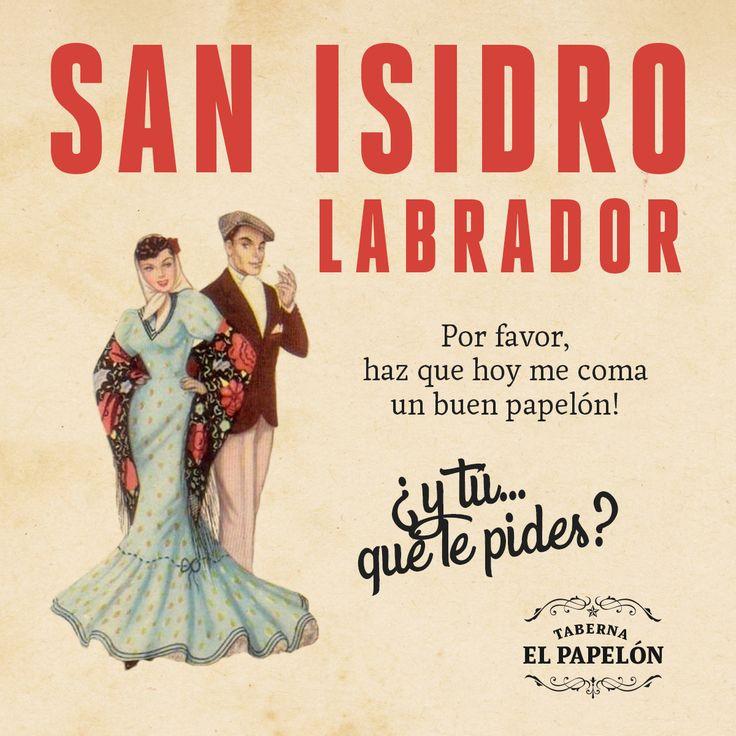 San Isidro. Taberna el Papelón