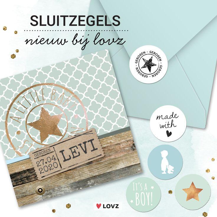 LOVZ.nl   Toffe sluitzegels. Maak het versturen van je geboortekaartje nog leuker... Diverse standaard designs voor jongens, meisjes, broer, zus en tweeling