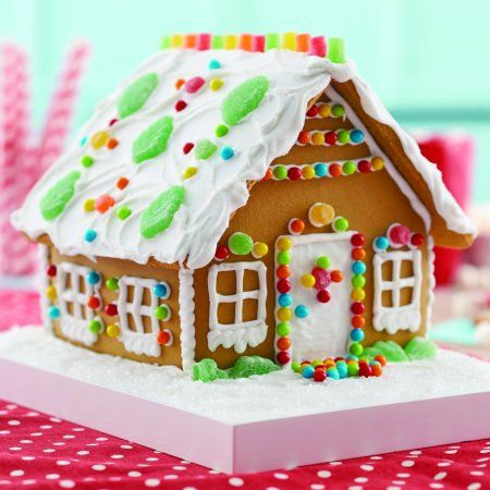 Food Gingerbread Gingerbread House Gingerbread House Decorations