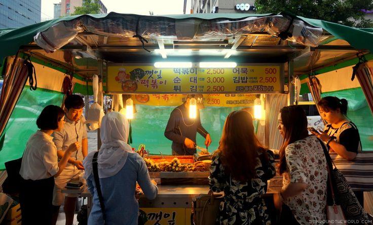 Corea del Sur   South Korea   Korean Food   Comida coreana   Street Food   Seoul