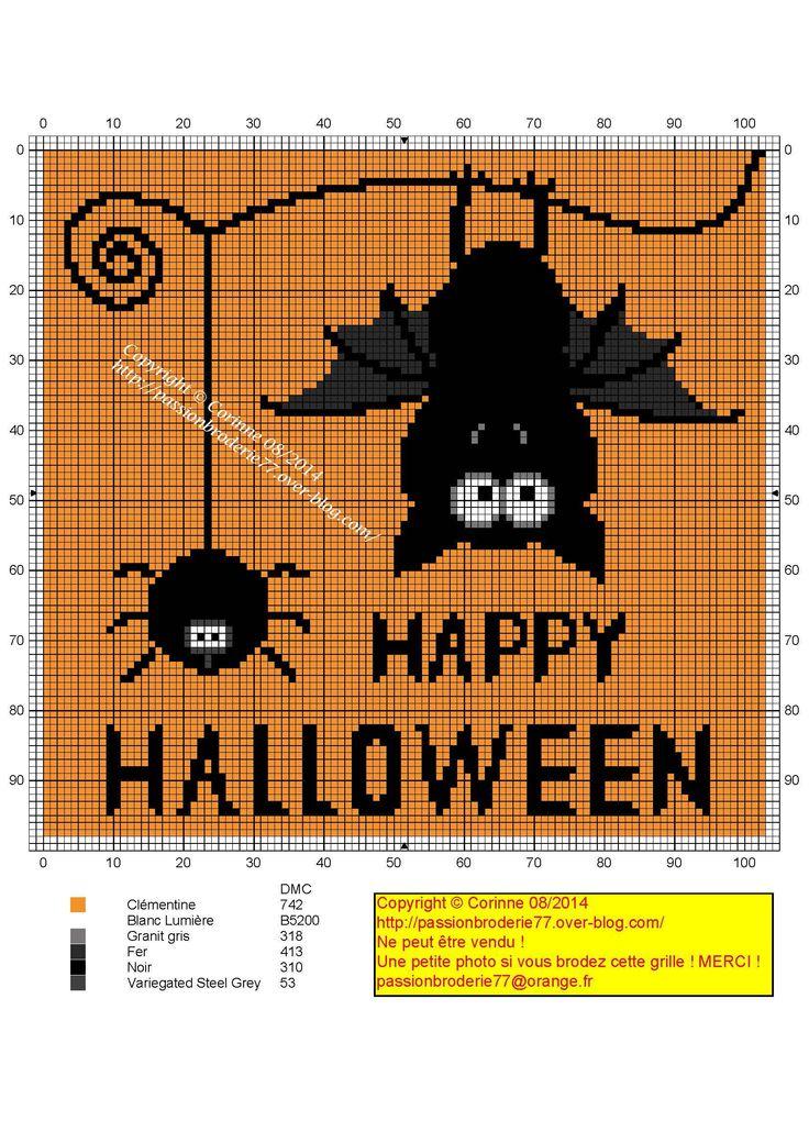 Chauve souris d'Halloween