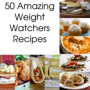 50 Delicious Weight Watchers Recipes.w/ point values pinterest.com/......