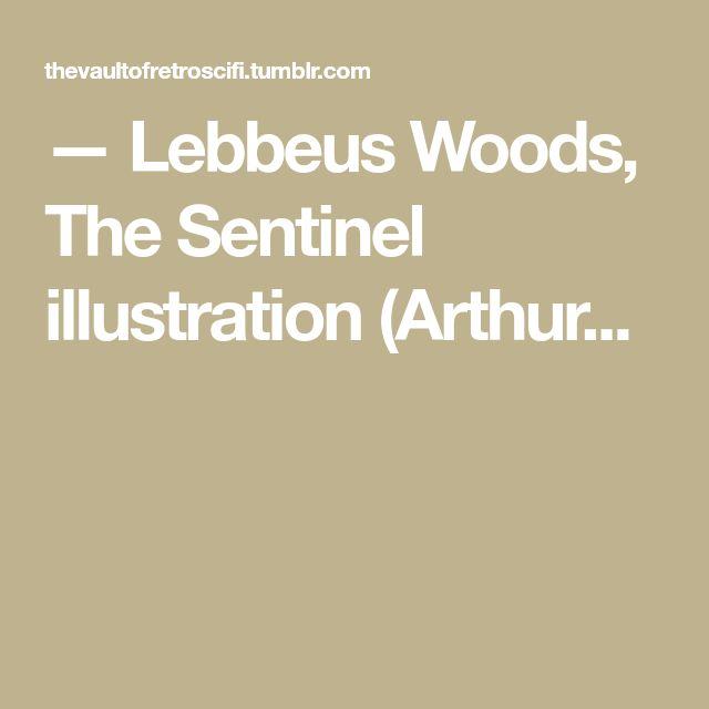 — Lebbeus Woods, The Sentinel illustration (Arthur...