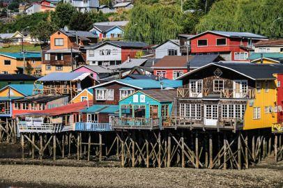 Palafitos in Castro Aus dem Album Chiloé - Inselleben