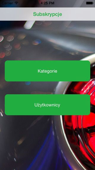 Dinegra - subskrypcje - iOS