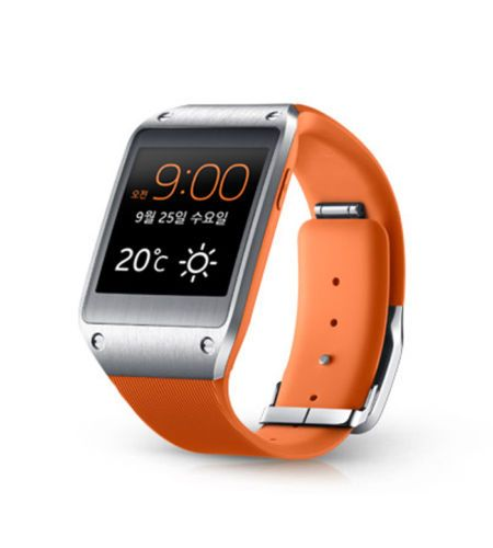[Samsung] 1.63'' Galaxy Gear Smart Watch Bluetooth Camera Video Mic(Wild Orange)