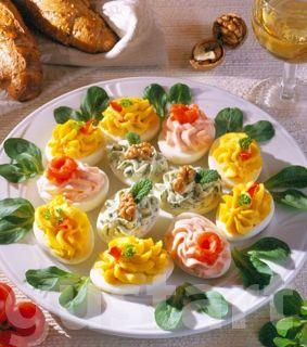 Lajos Mari konyhája - Töltött tojás- változatok