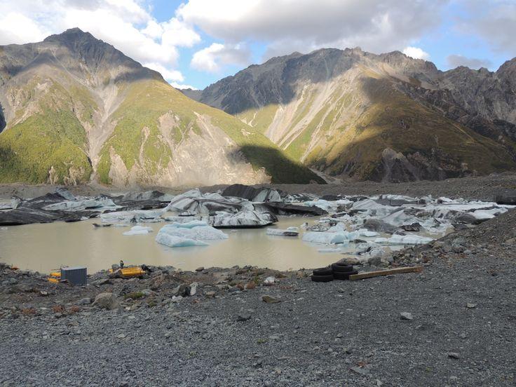 Tasman Glacier ice bergs #travel travelpics #newzealand #iceberg #tasman