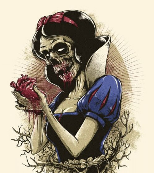 Zombie Disney Characters | disney characters as zombies - Bing Images | Tattoo drawings