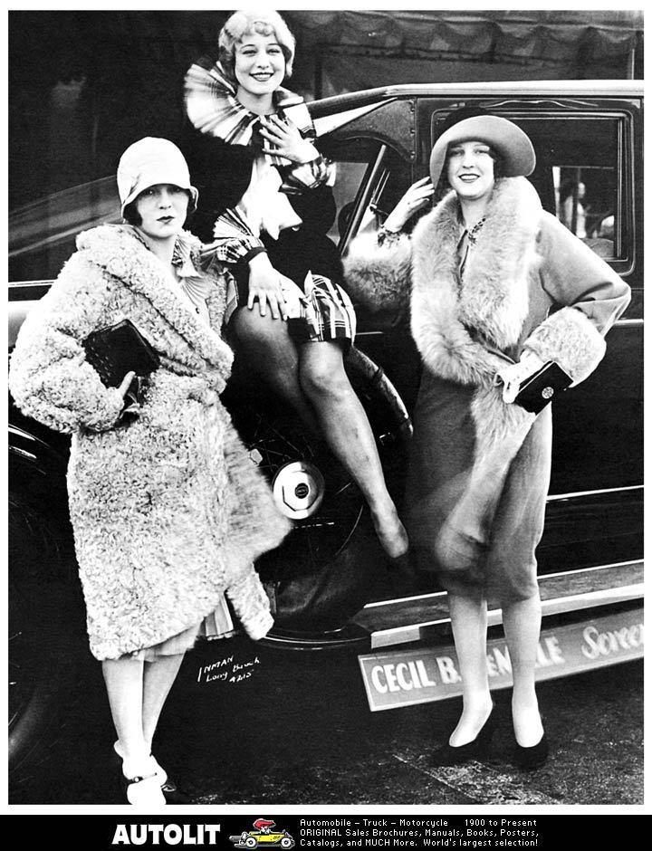 Flappers-should have been born in the 20's