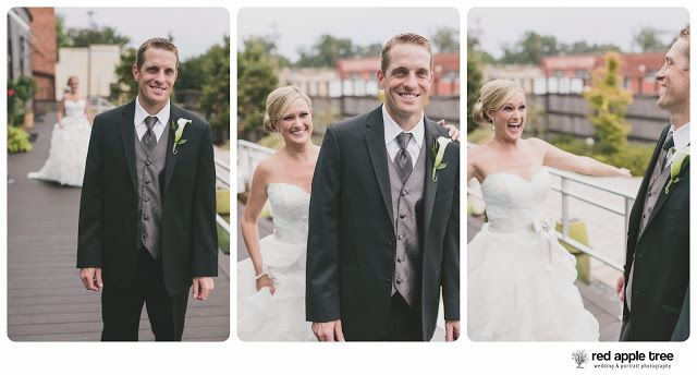 red apple tree photography: Stacy + Ryan Wedding, at Zen downtown Greenville SC. reveal or first look!