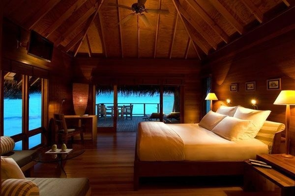 repinned by Designpass.com  exotic bedroom