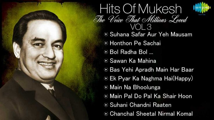 Best Of Mukesh - Top 10 Hits - Indian Playback Singer - Tribute To Mukes...