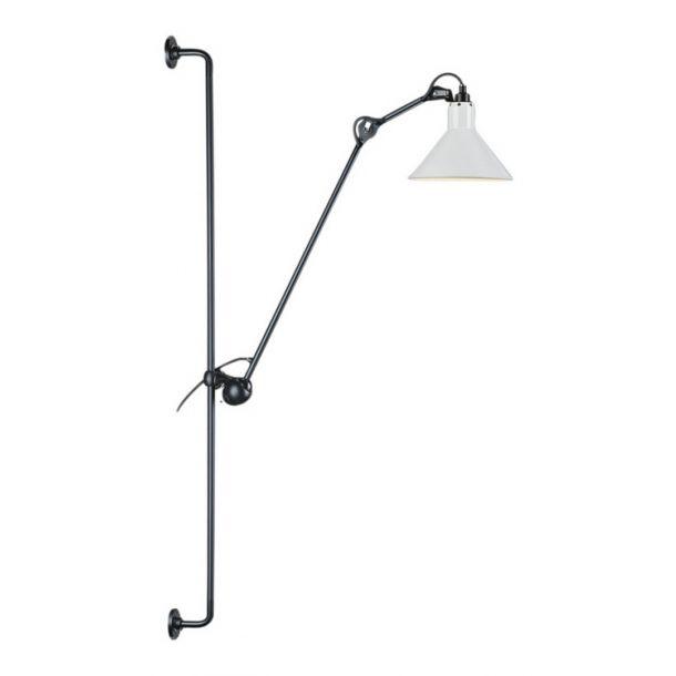 214 Lampe Gras Wall Lamp - Black / White | Memoky.com