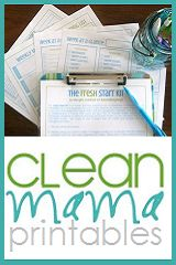 Project Organize Your ENTIRE Life: Cleaning Schedule Questions