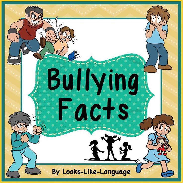 Facts about bullying for teaching and bulletin boards! Discussion/ game cards and homework worksheets, too! $