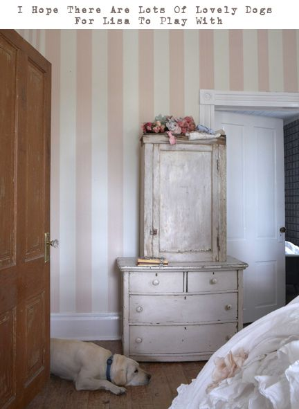 Best 25 pink striped walls ideas on pinterest baby room - Pink and white striped wallpaper bedroom ...