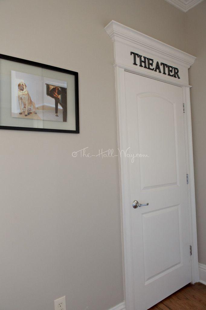 Home Theater Entrance - Bonus Room - DIY Home Theater - #Platform #riser #media…