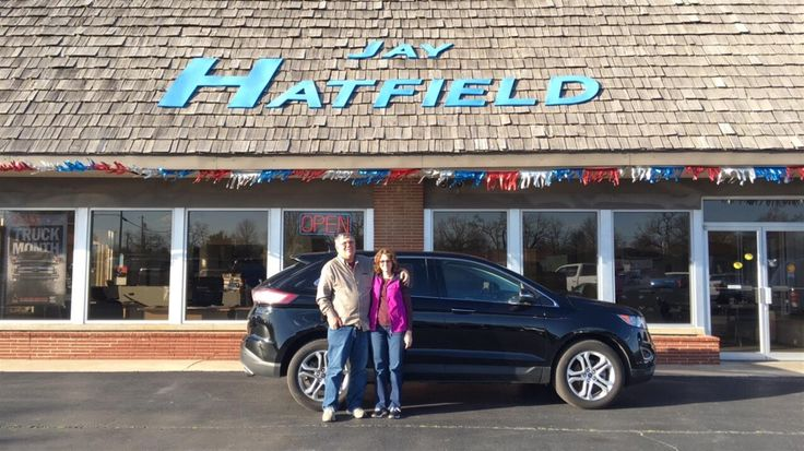 GREG's new 2016 Ford Edge! Congratulations and best wishes from Jay Hatfield Ford and Ryan Witt.