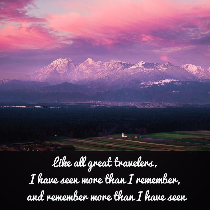Like all great travelers I have seen more than I remember and remember more than I have seen. Benjamin Disraeli #traveler #travequote #traveller #tourism