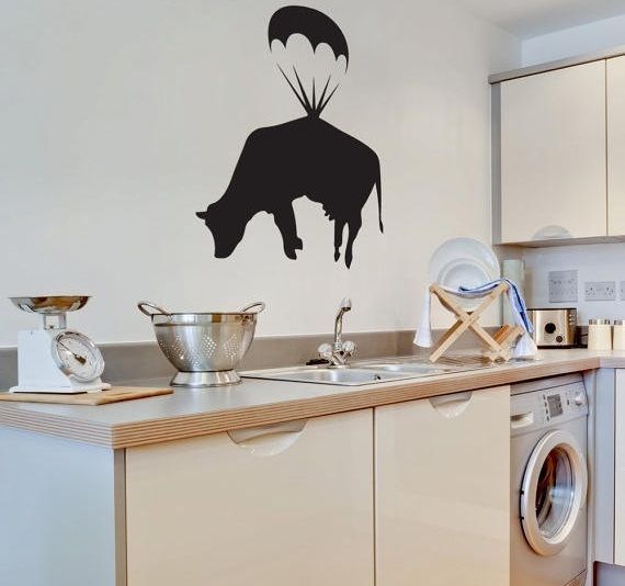 Farm Animal Kitchen Decor With Wall Art Stickers | Decolover.net Part 51