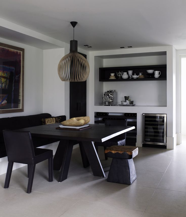 Piet Boon Styling by Karin Meyn | Black in combination with wood