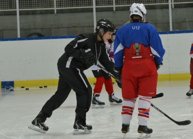 Maria Rooth, one of the best hockey players in the world - Recently selected to the IIHL Hall of Fame! Now run a succesful girl hockey camp in Sweden, where also international students are allowed.
