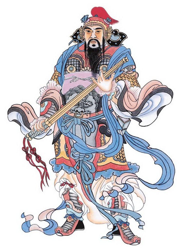 начинаем серию рисунки китайских богов фото два