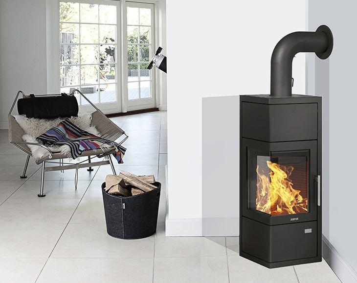 58 best wood burner images on pinterest wood burning stoves firewood and wood burner - Estufas lena leroy merlin ...