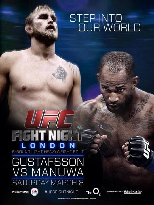 UFC Fight Night 37: Gustafsson vs. Manuwa Results, Bonuses, Attendance & Live Gate