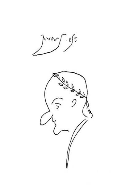 "pompeii graffiti rufus est | ... graffiti ""Rufus Est"" (This is Rufus) above. See C.I.L. IV 9226"