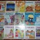 15 Mailbox Magazines in great condition ... most are like new.  There is a duplicate in the picture, but I have another magazine to add in that spot.