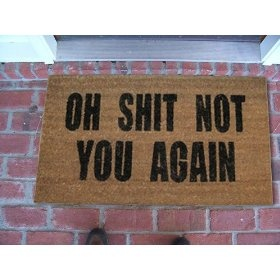 hahah i need this!: Laughing, New House, Back Doors, Welcome Mats, By Mats, Doors Mats, Front Doors, Funny Stuff, Humor