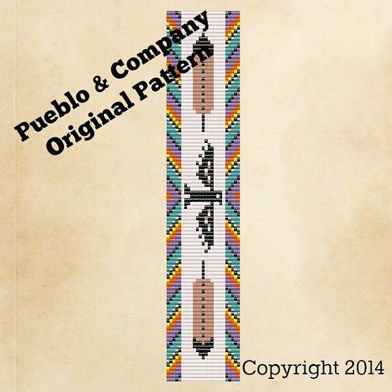 Native American StyleThunderbird Rainbow Bead Loom by PuebloAndCo