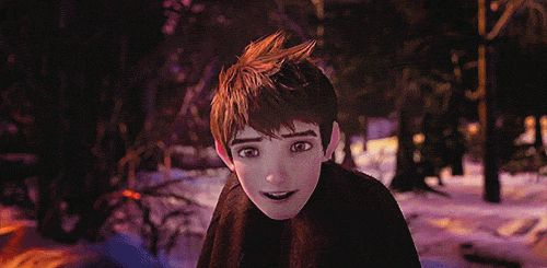 Jack Frost (gif) from Rise of the Guardians... is it just me, or does he look just like Colin Morgan?