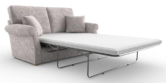 Buy Ashford Memory Foam Sofa Bed- Medium (2 People) Boucle ...