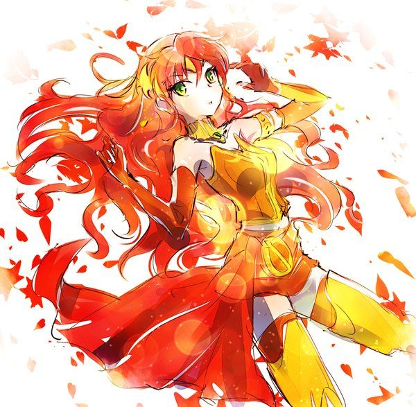 My fall goddess Pyrrha