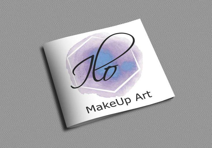 ILO MakeUp Art watercolor logo