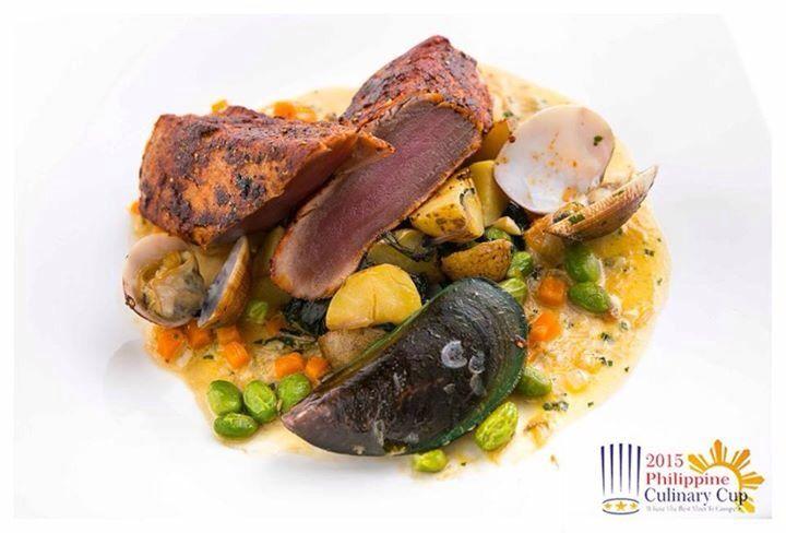 Seafood Dish, Culinary Cup 2015