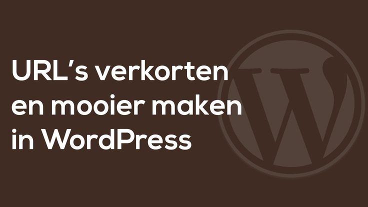 WordPress URL's verkorten en mooier maken