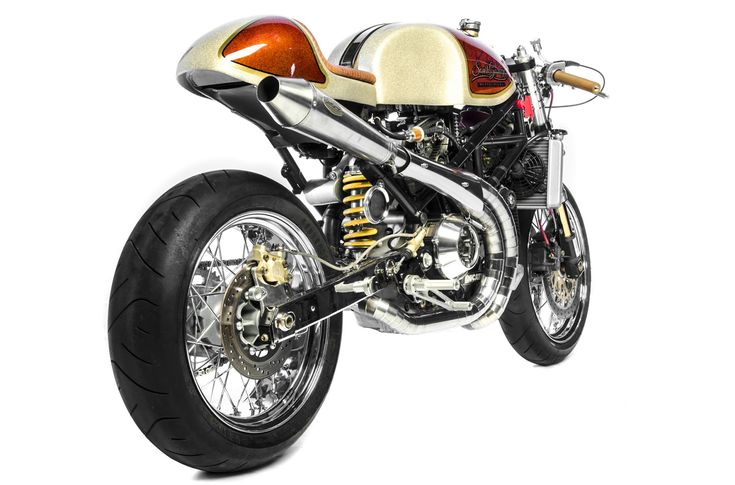 Winner of the 2012 EICMA 'Best Cafe Racer' award. The South Garage Cafè Ducati S4R 'Kelevra' - via Return of the Cafe Racers