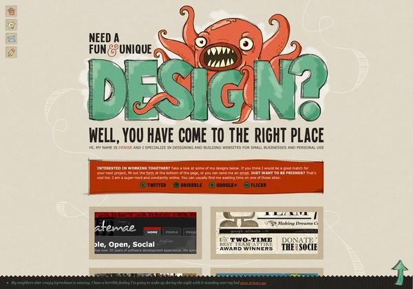 http://www.denisechandler.com #webdesign