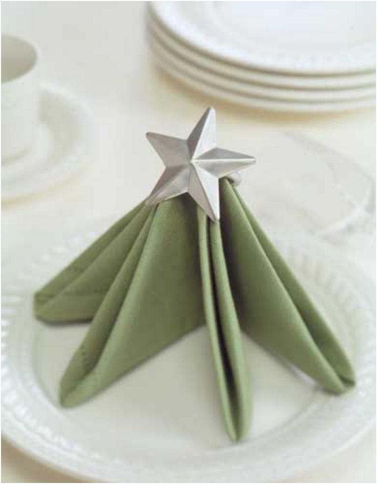 Top 10 festive Christmas napkin folding tutorials