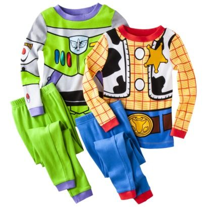 Disney® Toy Story Infant Toddler Boys 4-Piece Pajama Set