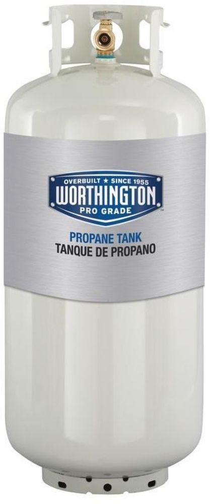 40 lb. Empty Liquid Propane Tank 9.4 Gallons Steel Worthington Pro Grade #WorthingtonProGrade