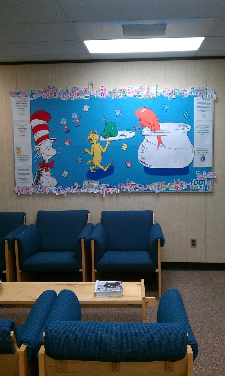 Dr. Seuss - Family Literacy Day 2012