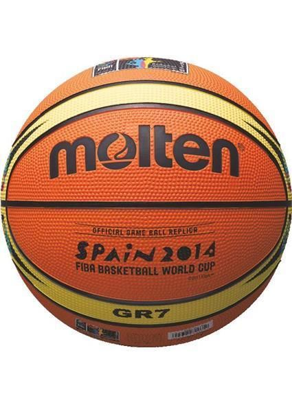 Balón Molten BGR7, balón de goma de la Copa del Mundo de España de 2014 www.basketspirit.com/Molten