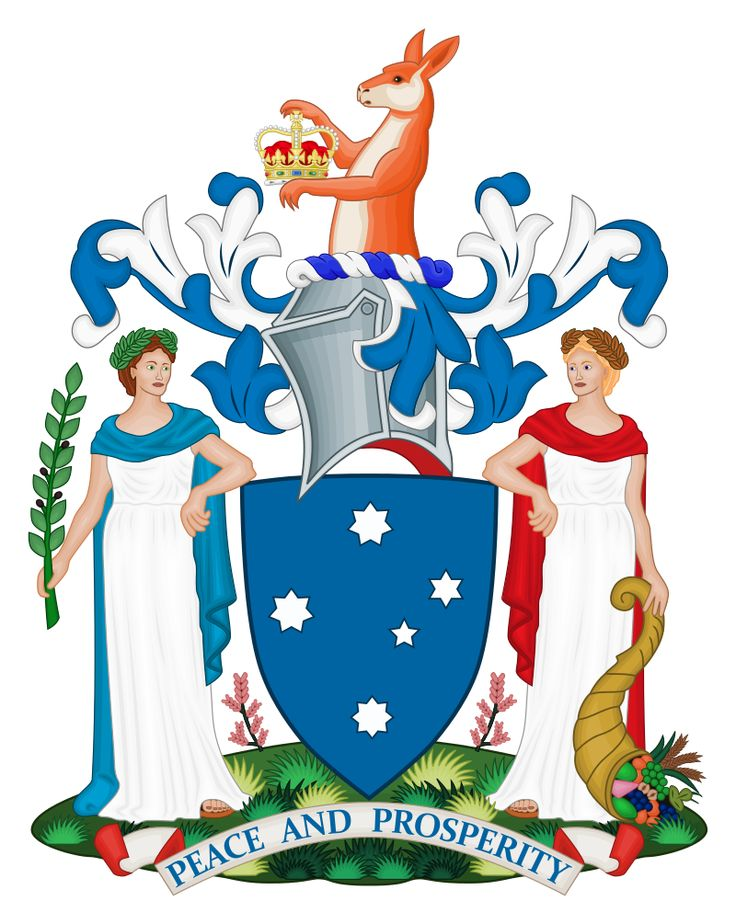 Coat of Arms of Victoria - Coat of arms of Australia - Wikipedia, the free encyclopedia
